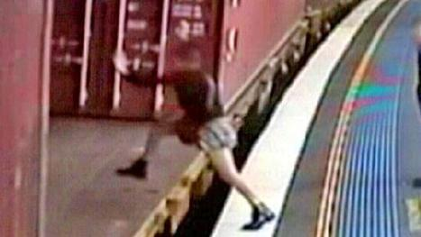 Police slam woman's 'reckless' actions after she jumped onto the open carriage of a freight train | Criminology scoops | Scoop.it