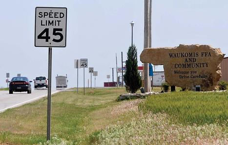 Slowing down speeders: Area towns disclose speeding citation numbers - Enid News & Eagle | LED Display Signs | Scoop.it