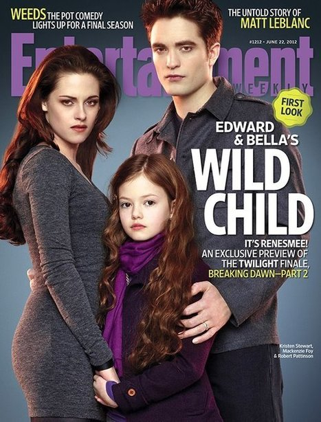 Breaking Dawn: First Images: Bella and Edward Welcome Renesmee, Lautner Insists Imprinting Not Creepy | For Lovers of Paranormal Romance | Scoop.it