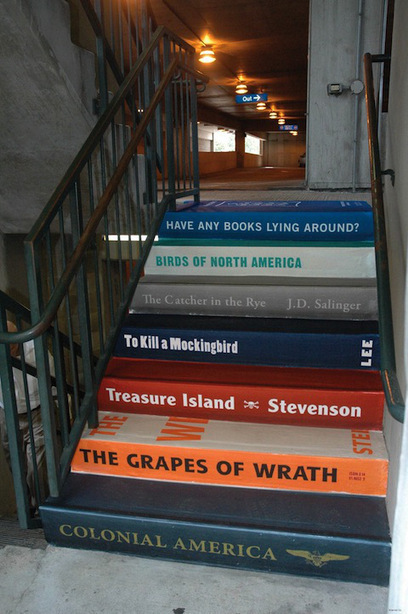 Scripta Πτερόεντα: Books on Buildings: 20 Bookish Murals From Around the World | Information Science | Scoop.it