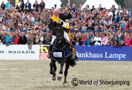 John Whitaker makes it a win in DKB-Riders Tour opening in Hagen   Red Horse News   Scoop.it