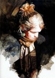 Keinyo White – Watercolor Portraits   Aquarelles en scène   Scoop.it