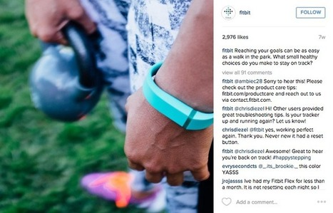 How Fitbit's Top Performing Posts Generate Engagement by Knowing Their Audience | Cultivating Community | Scoop.it