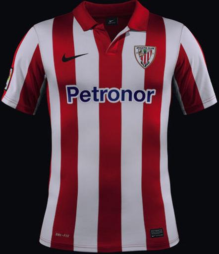 Les maillots de l'Athletic Bilbao pour 2013-2014 | Maillots 2014 2015 | Scoop.it