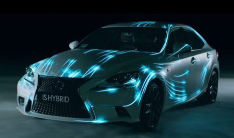 Physical and virtual gaming worlds collide in Lexus IS Hybrid promo - Autoblog (blog) | Stuff that Tweaks | Scoop.it