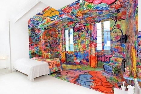 A Hotel Room for Domesticated Street Art | CRAW | Scoop.it