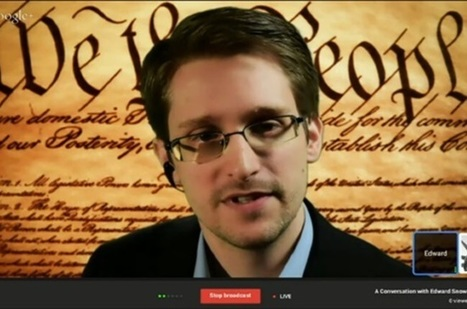 Snowden tells tech bigwigs: It's up to you to thwart mass surveillance - The Register | Peer2Politics | Scoop.it