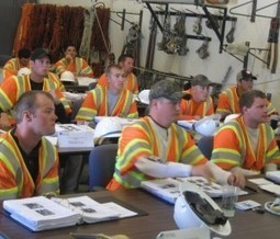 Boot Camp for Tomorrow's PG&E Line Workers All About Safety | PG&E Currents | Line workers | Scoop.it