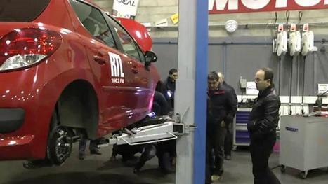Yakarouler propose des ateliers de mécanique gratuits - Les vidéos Auto-radio express - RTL.fr | Atelier Automobile | Scoop.it