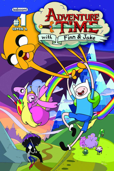 Grace Randolph's Between The Pages With Adventure Time's Fred Seibert | Comic Books | Scoop.it