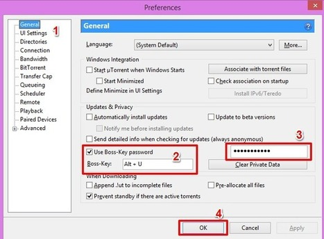 Password Protect and Hide System Tray Icon in Utorrent ~ SOFTECHNOGEEK - All In One Blog To Find Everything You Want | How To Backup, Restore Install All Windows 8 System Drivers Free | Scoop.it