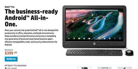 In Another Bad Sign For Microsoft, HP Aims Its New Android PC At The Enterprise | ICOA News Reader | Scoop.it