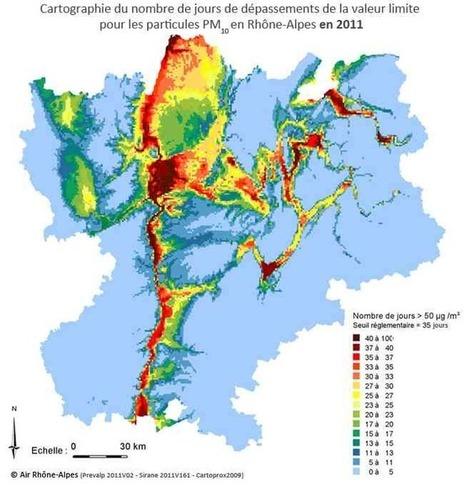 Le chauffage au bois : première cause de pollution hivernale en Rhône-Alpes   Toxique, soyons vigilant !   Scoop.it