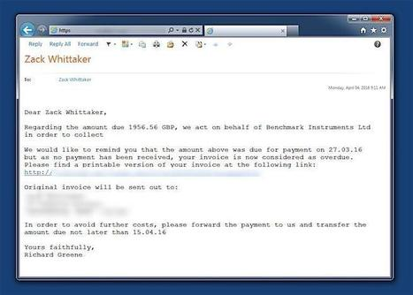 Meet the new ransomware that knows where you live | ZDNet | Cyber Security | Scoop.it