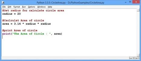 Python: Writing a Simple Program | VAKRATUND CLOUD EDUCATION | Scoop.it