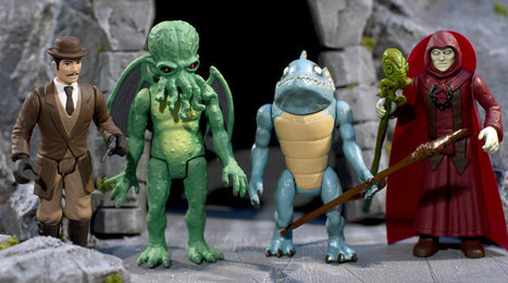Legends of Cthulhu Brings a Classic '80s Vibe to New Action Figures | Geek & Toys | Scoop.it