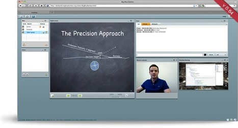 #BigBlueButton -- Open Source Web Conferencing built for #highered #edtech20 #elearning | Moodle and Web 2.0 | Scoop.it