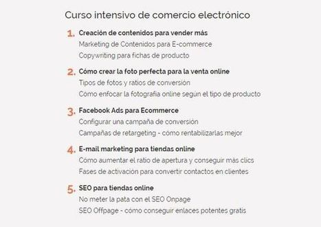 Curso Intensivo de Comercio Electrónico | Recopila cursos | Scoop.it