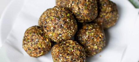 Runner Recipes: Peanut Butter Pistachio Energy Bites | Official runDisney Blog | Well balanced living | Scoop.it