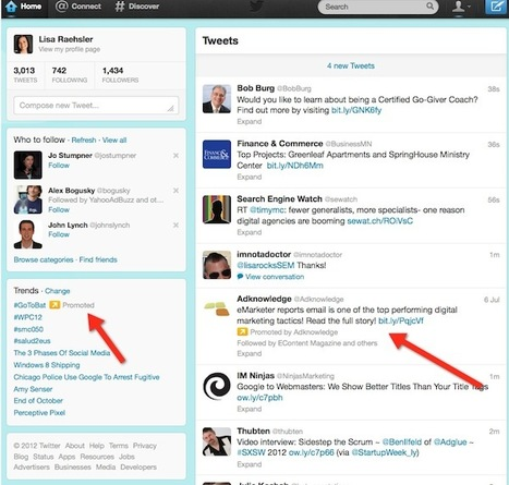 Twitter Advertising Guide | SIM Partners - Social Media | Scoop.it