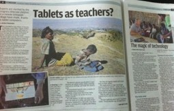 Tablets as Teachers - Children Learning on their Own Through ... | Learning with Tablets | Scoop.it