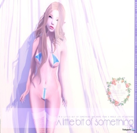 A Little Bit of Something Blue Underwear With Appliers Teleport Hub Group Gift by Milk Tea | Teleport Hub - Second Life Freebies | Second Life Freebies | Scoop.it