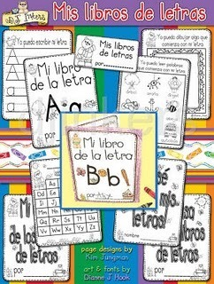 Mommy Maestra: Bilingual Preschool and Kindergarten Booklets | Bilingual Education | Scoop.it