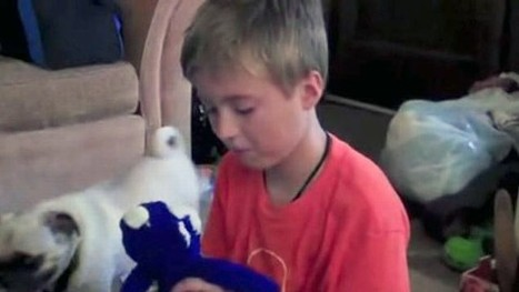 Toy story: boy reunited with missing monkey after 3 years   Simply beautiful   Scoop.it