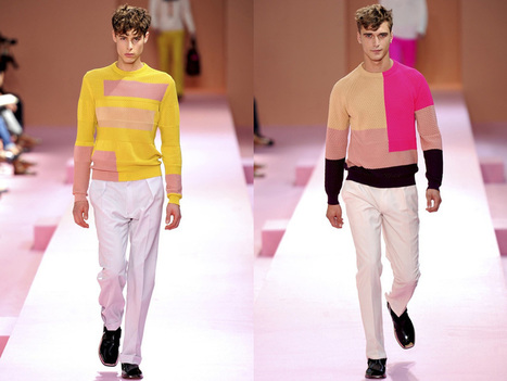 Paul Smith Men SS2014 Paris. - Clothing - Fashion - Yve Lifestyle | PAUL SMITH | Scoop.it