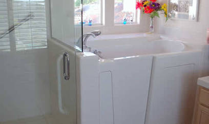 6 Inspirational Aging in Place Bathrooms - Age in Place Remodeling | Fall prevention in older adults | Scoop.it