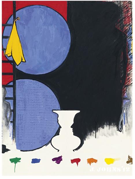 Jasper Johns Painting fetches $2.9 million for Whitney Museum   Jasper Johns   Scoop.it