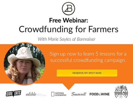 Crowdfund Your Farm Successfully [Free Webinar] | Aquaponics~Aquaculture~Fish~Food | Scoop.it