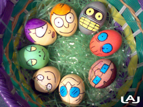25 Awesome Easter Eggs | Teaching ideas | Scoop.it