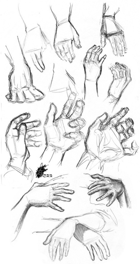 Useful Hand Drawing References, Guide and Tutorials | Art Education | Scoop.it