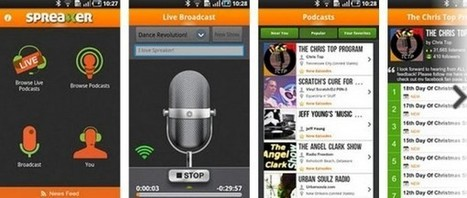 Spreaker ya nos permite transmitir en vivo en los medios sociales desde Android | VIM | Scoop.it