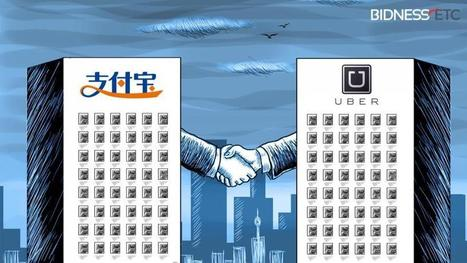 Uber's China Customers can Now Pay for International Rides Using Alibaba's Alipay | Peer2Politics | Scoop.it