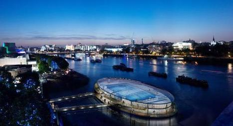 Two Possible Designs For A Thames Lido   Building and construction news in and around London   Scoop.it