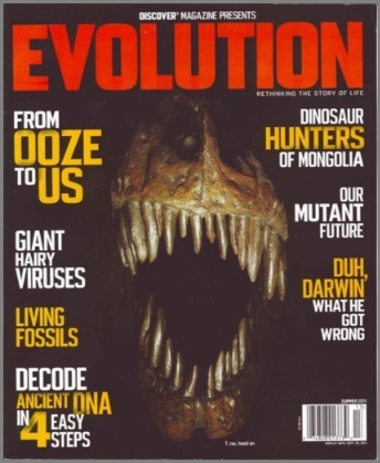 Off the Grid: Discover Mag has Special Evolution Issue this Summer ... | Human Evolution | Scoop.it