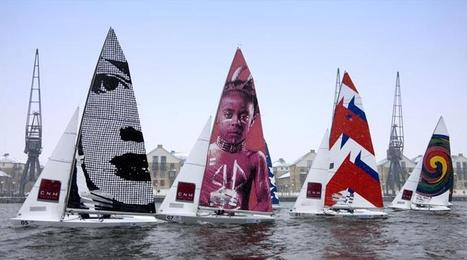 British schools embark on Olympic sail art contest | #AC34 | Scoop.it