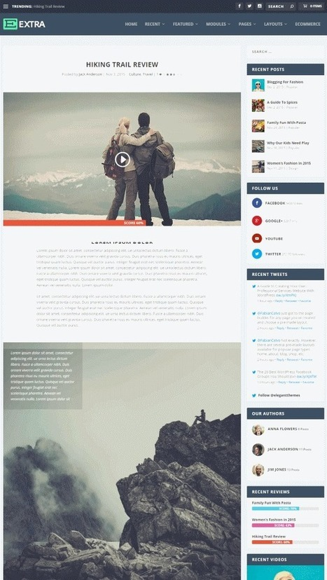 A Forecast of 2016 Web Design Trends | Mance Creative - Graphic and Website Design | Scoop.it