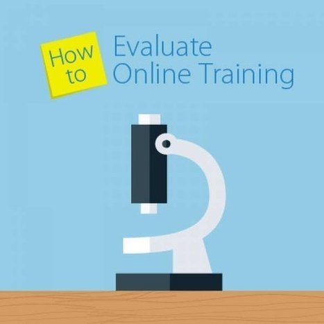 How to Evaluate Your Online Training   Training   Scoop.it