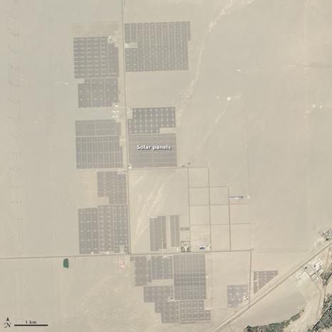 China comienza la construcción de un inmenso campo solar en el desierto del Gobi | Energía | Scoop.it