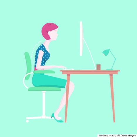Sitting All Day Can Make Everything Hurt, But There's A Way To Fix It | Nature & Health | Scoop.it