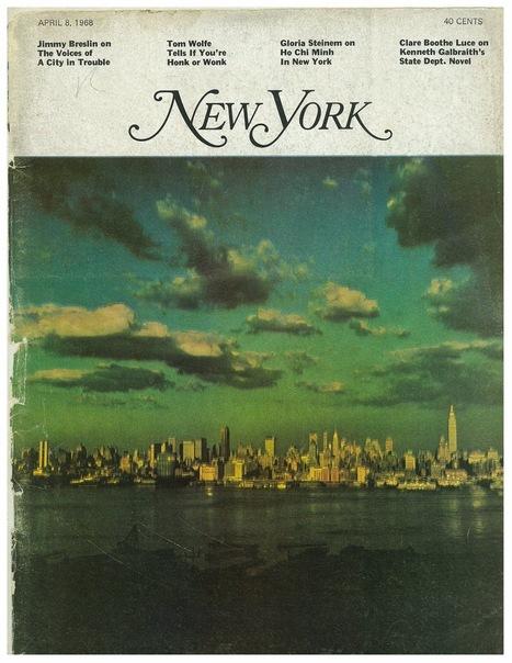 "Bienvenue au ""New York Magazine"" | DocPresseESJ | Scoop.it"