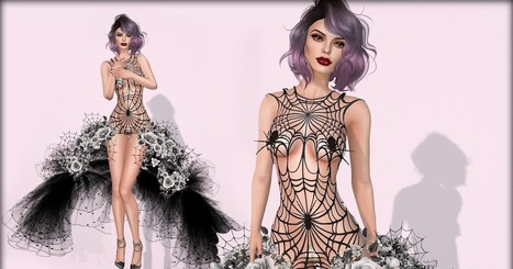 Kiss of the Spider   亗  Second Life Fashion Addict  亗   Scoop.it