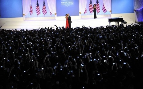 What this picture from Obama's Inaugural Ball tells us about Smartphones.... | Visual Storytelling | Scoop.it
