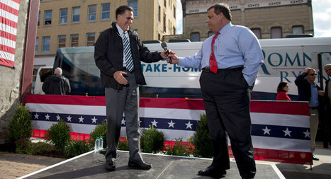Exclusive: Christie was Mitt's first choice for VP - Mike Allen and Jim VandeHei | Black People News | Scoop.it