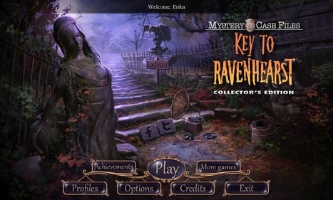 Mystery Case Files: Key to Ravenhearst Walkthrough: From CasualGameGuides.com | Casual Game Walkthroughs | Scoop.it