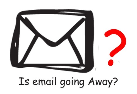 Is Email Going Away? Yes | Curation Revolution | Scoop.it