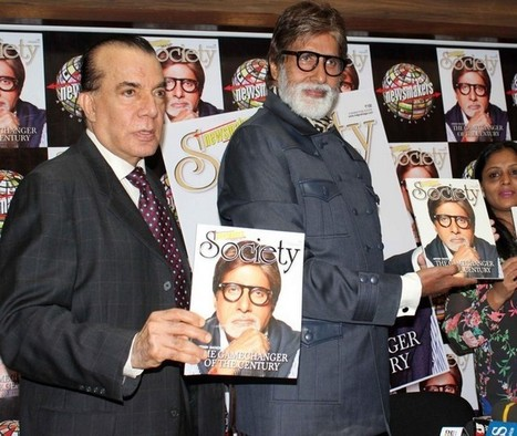 Amitabh Bachchan At Society Magazine April Issue Launch | Bollywood Celebrity News And Events | Scoop.it
